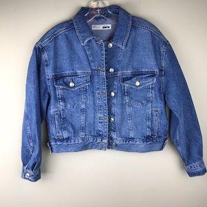 Topshop Moto denim jacket (EUC)